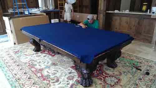 Pool Table Movers Moving Recovering Teardown Orlando Miami Daytona - Pool table movers tampa